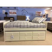 See Details - Transitional White Twin Daybed