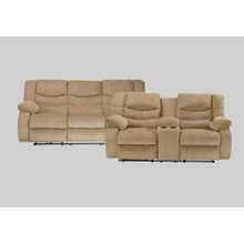 Garek Sofa & Loveseat: Sand