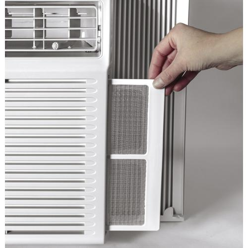 GE Appliances - GE 12,000 BTU Electronic Heat/Cool Room Air Conditioner
