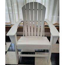 See Details - White Outdoor Patio Chair