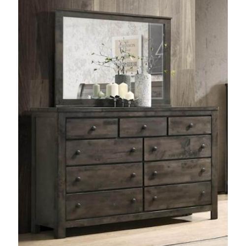 New Classic Furniture - Blue Ridge Dresser - Rustic Gray