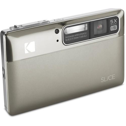 Kodak - KODAK SLICE Touchscreen Camera /  Nickel