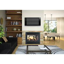 Panorama P121 Two sided Direct Vent Gas Fireplace