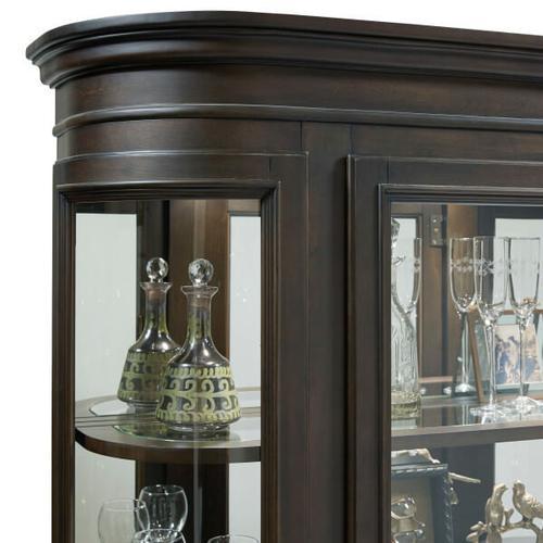 Pulaski Furniture - Espresso Curio