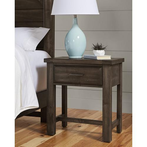 Chestnut Creek - 1 Drawer Nightstand