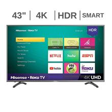 "43"" 4K UHD Smart Roku TV"