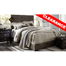 Dolante Brown Queen UPH Bed