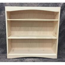 See Details - Maine Made Arched Bookcase 3 X 3 36W X 36H X 12D Pine Unfinished