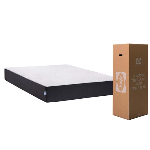 "Sealy Essentials - 10"" Memory Foam - Mattress In A Box - King"