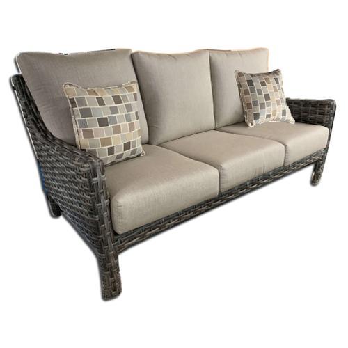 Inverness Wicker Sofa