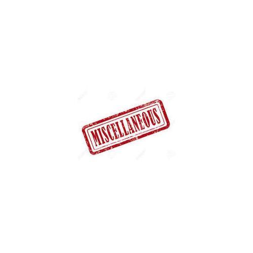 Miscellaneous - MISCELLANEOUS
