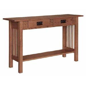 Country Value Woodworks - Mission 2- Drawer Sofa Table