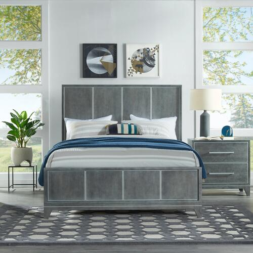 Memphis - Slate 6 Piece Queen Bedroom