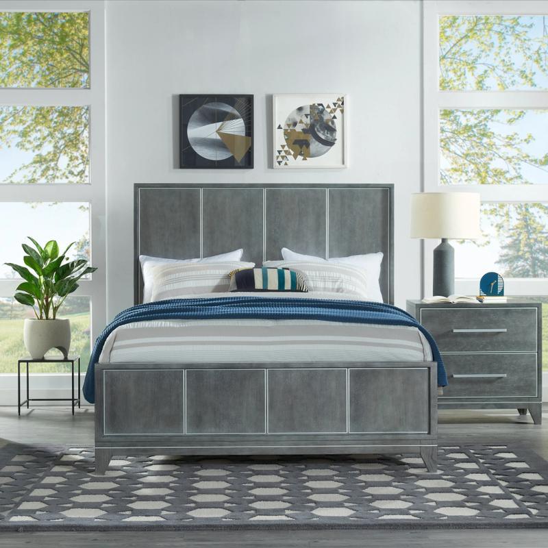 View Product - Memphis - Slate 6 Piece Queen Bedroom