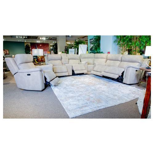 Ashley Furniture - Next-gen Durapella Zero Gravity Power Reclining Sofa & Console Loveseat Sand