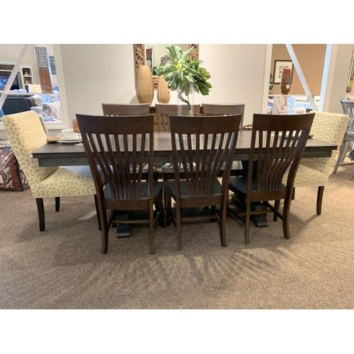 Sonoma Rectangular Dining Table with 6 Chairs (Upholstered Accent Chairs Extra)