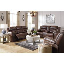 Ashley Stoneland Power Reclining Set (3-piece) in Chocolate