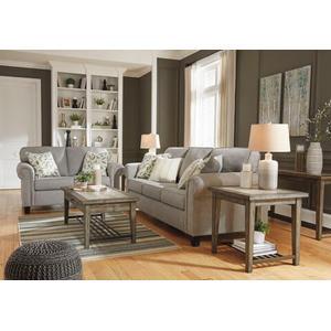 Alandari- Gray Sofa and Loveseat