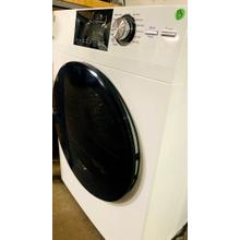 "USED- GE® 24"" 4.1 Cu.Ft. Front Load Ventless Condenser Electric Dryer with Stainless Steel Basket- FLDRYE24WH-U   SERIAL #1"