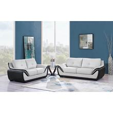 Sofa Natalie Light Grey/ Black