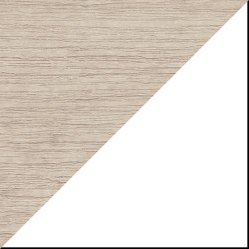 Balcony Tete-a-Tete Table Premium Birch and White