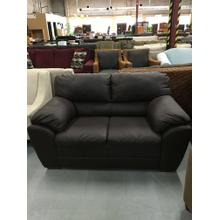 NEW Leather Loveseat
