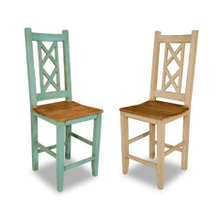 Bombay Counter-Height Cross Back Chairs