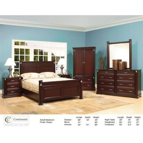 Continental Furniture Ltd - Amalfi Bedroom Set