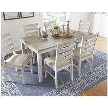See Details - D394-425 Ashley 7 pc. Dining Set