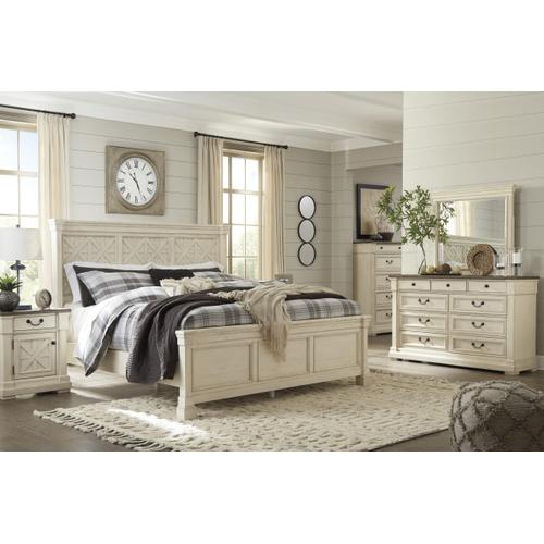 Packages - Aria Queen Bed, Dresser, Mirror, Chest and Night Stand