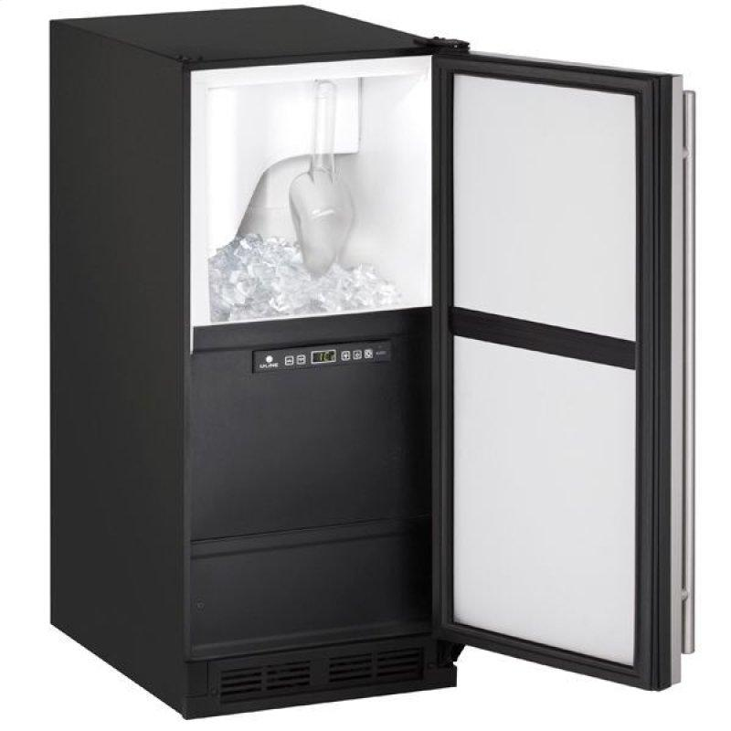 """Clr1215 15"""" Clear Ice Machine With Stainless Solid Finish, Yes (115 V/60 Hz Volts /60 Hz Hz)"""