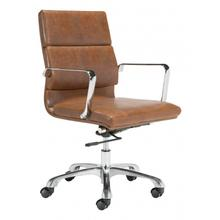 See Details - Ithaca Office Chair Vintage Brown