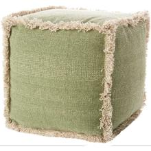 """See Details - Life Styles As301 Sage 16"""" X 16"""" Pouf"""