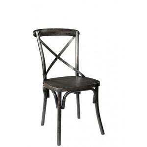 Industrial X Back Chair