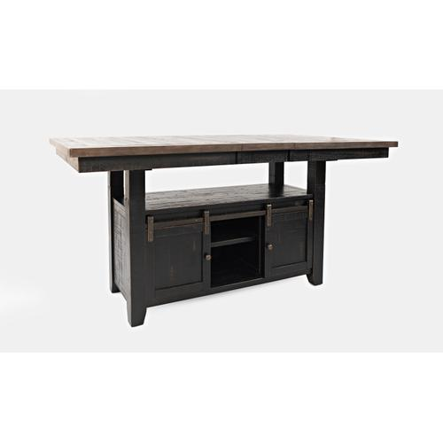 1702-72T Madison County Pub Table (Top & Base)