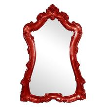 View Product - Lorelei Mirror - Glossy Red