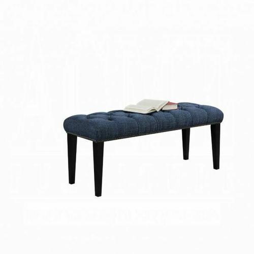 ACME Faye Bench - 20883 - Blue Linen & Espresso