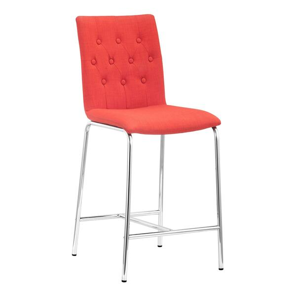 See Details - Uppsala Counter Chair Tangerine