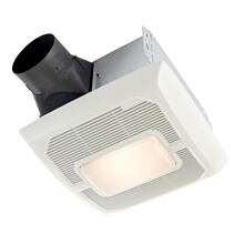 Broan® Roomside Series 80 CFM 1.0 Sones Ventilation Fan Light