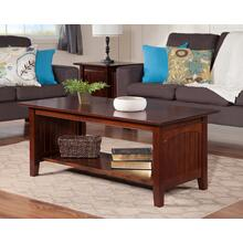 Nantucket Coffee Table Walnut