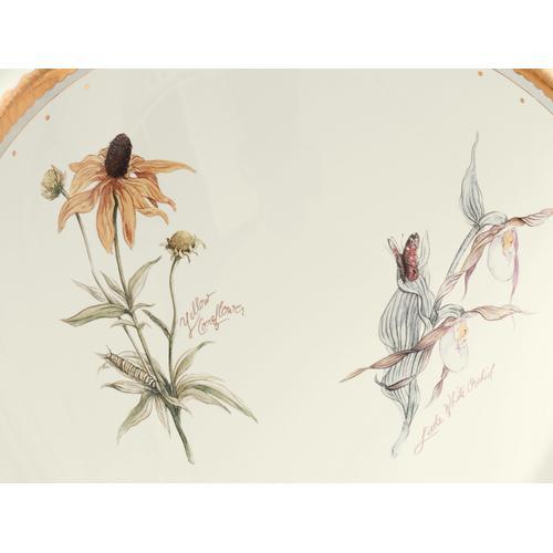 Prairie Flowers Drop-in Bathroom Sink