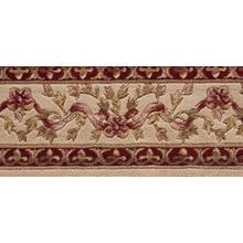 Ashton House Ribbon Trellis A01b Beige Border Broadloom Carpet