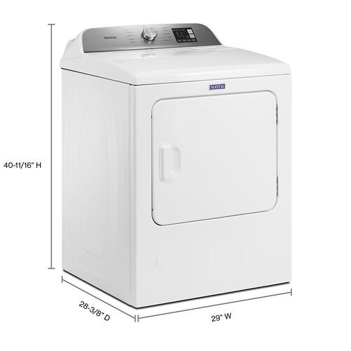 Top Load Gas Dryer with Advanced Moisture Sensing - 7.0 cu. ft.