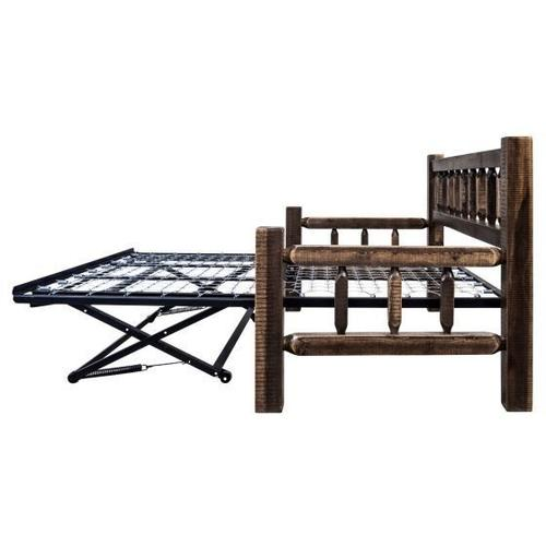Homestead Collection Day Bed with Trundle, Stain and Lacquer Finish
