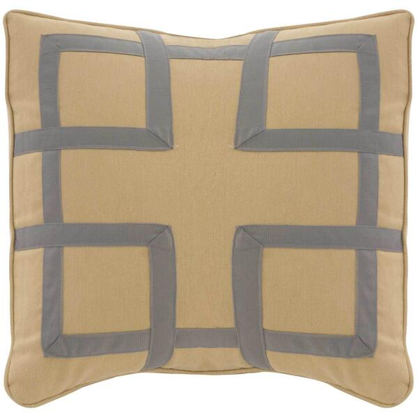 "See Details - Custom Decorative Pillows Fretwork (21"" x 21"")"