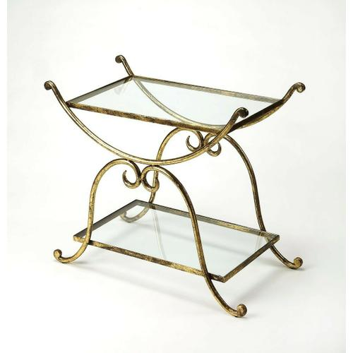 Butler Specialty Company - Serve hors d'oeuvres and cocktails at your next soiree with this essential cart, or set in the bathroom as an unexpected stage for toiletries or unique accents
