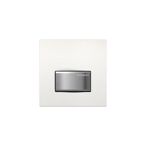 Type 50 Flush plates for in-wall urinal systems Alpine white Finish