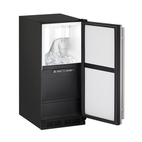 """15"""" Clear Ice Machine With Stainless Solid Finish, No (115 V/60 Hz Volts /60 Hz Hz)"""