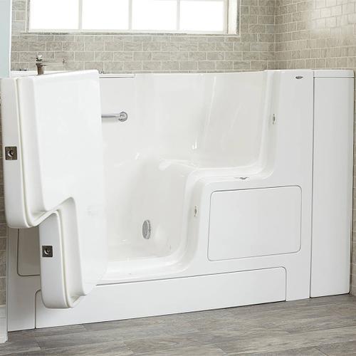 American Standard - Premium Series 32x52-inch Walk-In Soaking Tub with Outswing Door  American Standard - White