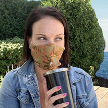Product Image - Happy Hour Reusable Face Mask in Linden Autumn
